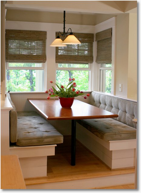 Booth Style Kitchen Tables | Booth Veneers Pic