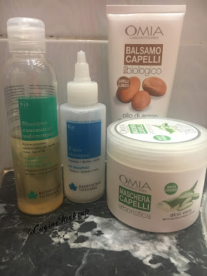 scrub viso biologico all'olio di argan omia