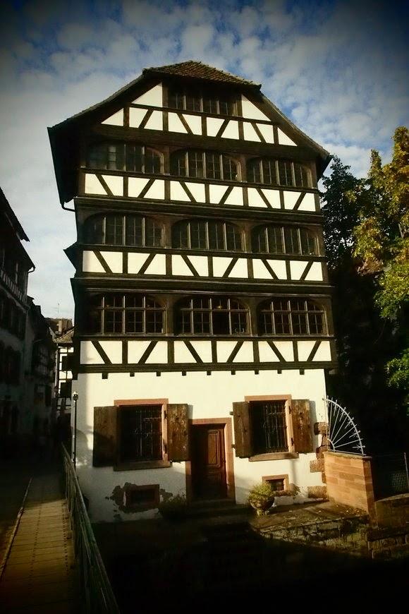 Strasbourg half-timbered houses