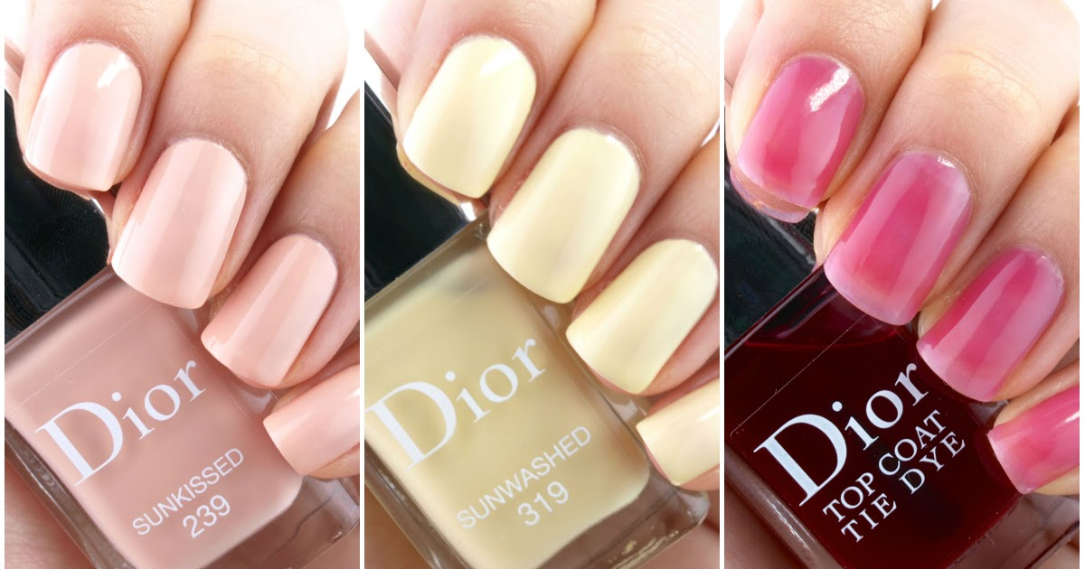Dior Summer 2015 Tie Dye Collection Nail Polish: Review ...