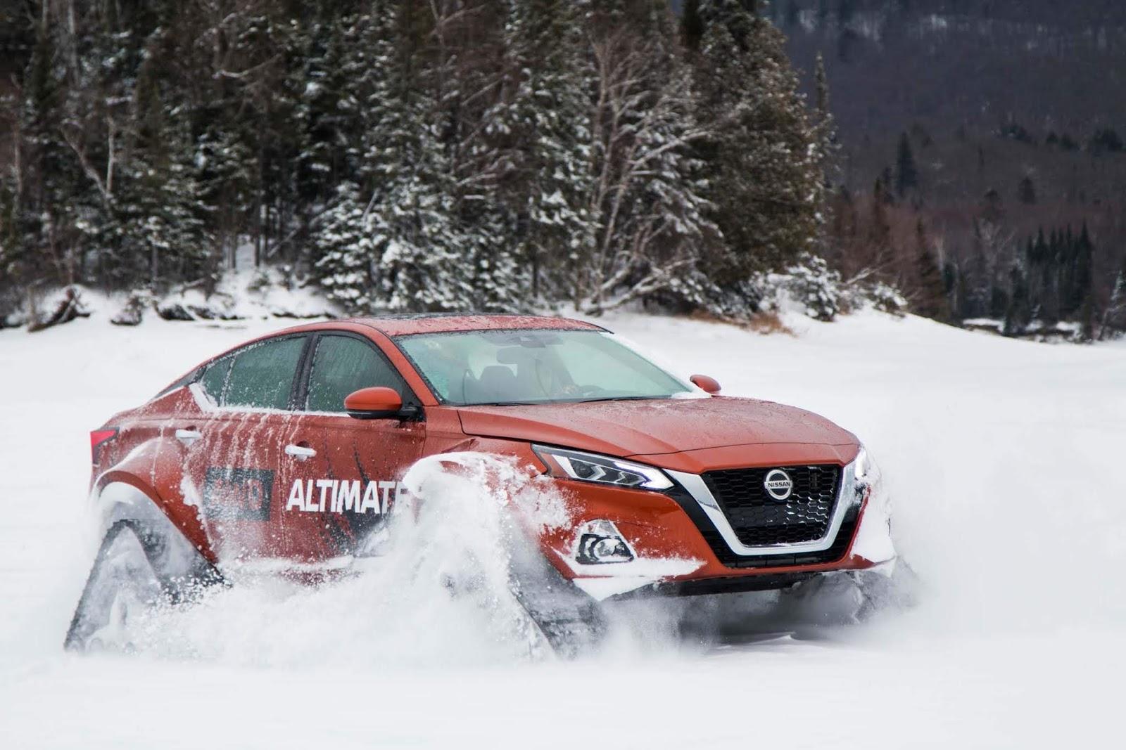 Παγκόσμιο ντεμπούτο για το  Nissan Altima-te AWD  στον Καναδά (ΒΙΝΤΕΟ)