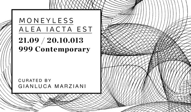 "Moneyless ""Alea Iacta Est"" Rome Solo Show Preview At 999 Contemporary Gallery. 1"