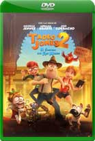 Tadeo Jones 2: El Secreto del Rey Midas (2017) DVDRip Latino