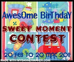 @20 mac : Awesome Birthday - Sweet Moment Contest..!!