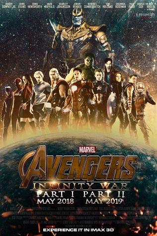 Biệt Đội Siêu Anh Hùng 3: Cuộc Chiến Bất Tận (Phần 1) - Avengers: Infinity War - Part 1