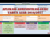 Download Aplikasi Pembuat Administrasi Guru Tahun Ajar 2016/2017