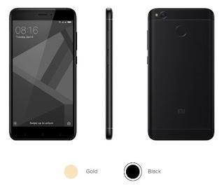 """Spesifikasi Redmi 4X  Baterai 4100 mAh (standby sampe 18 hari, dan pemakaian berat bisa sampe 2 hari.  Layar HD 5""""   Prosesor Snapdragon 435.  Body metal anodised aluminium yang ramping dan indah. Kaca depan lengkung 2.5D  Kamera 13MP-nya terlihat tajam dengan warna-warna hidup berkat bantuan teknologi fokus cepat 0.3 detik PDAF. Prosesor Snapdragon 435 octa-core"""