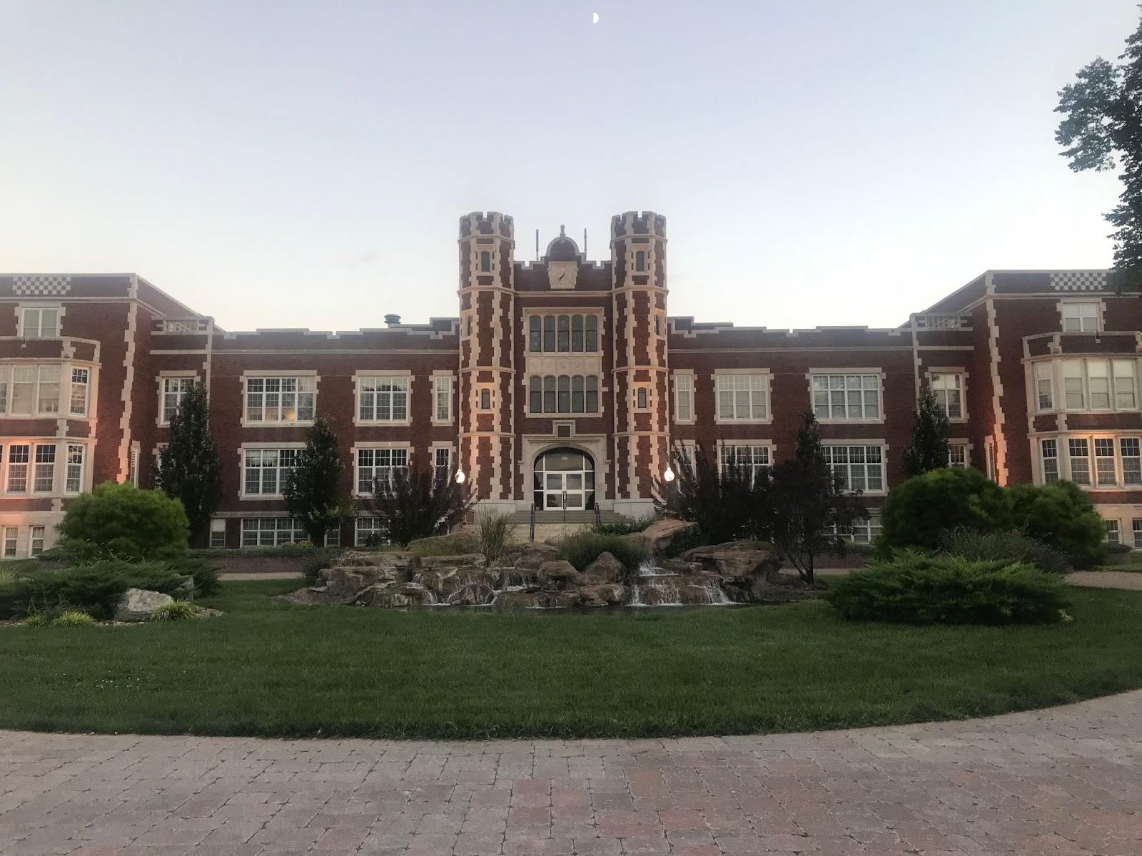 Kansas Wesleyan University - The Hall of the Pioneers