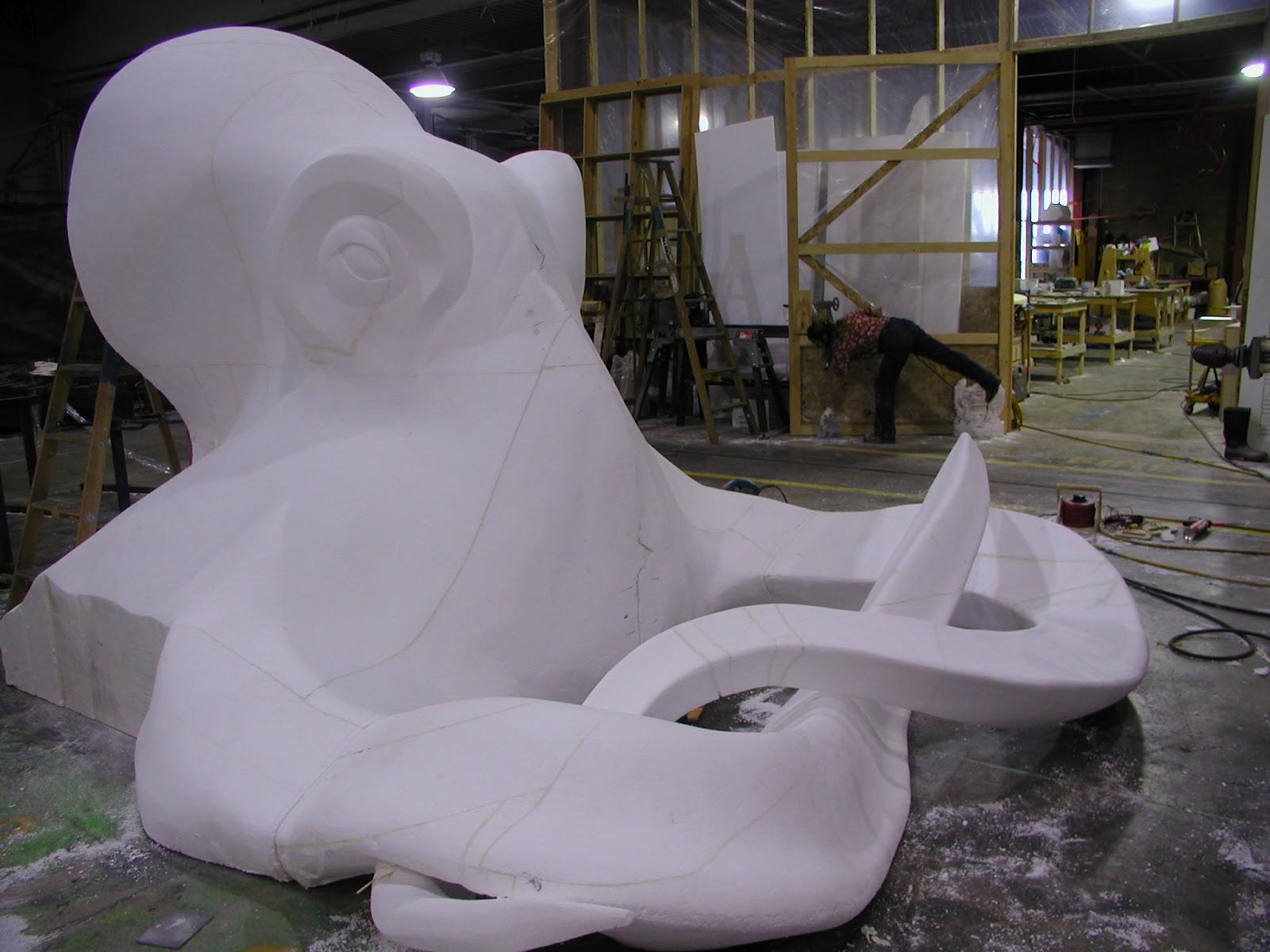 Movie Prop Maker Set Sculpture Terminology Eps Foam Carving