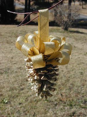 Pine Cone Ornaments 1