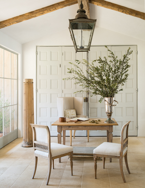 Patina Farm elegant yet rustic interior design in modern farmhouse - found on Hello Lovely Studio