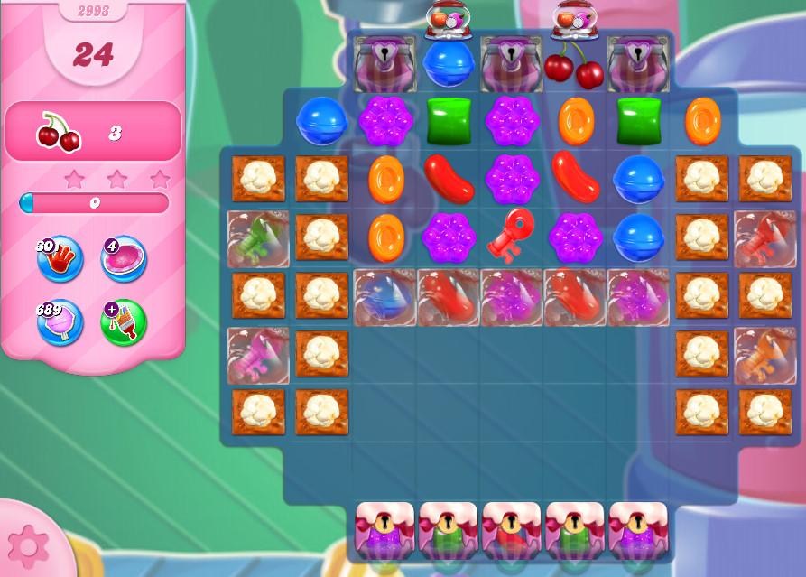 Candy Crush Saga level 2993