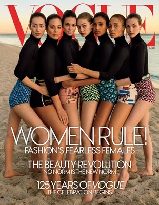 Vogue US : Fearless Female