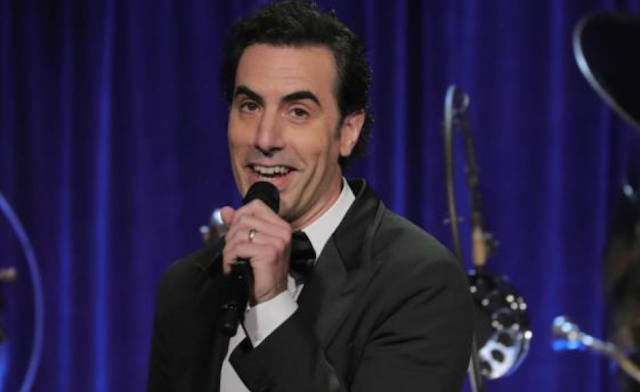 Showtime says Sacha Baron Cohen did not dress as 'disabled veteran'