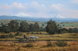 pinturas-de-paisajes-con-reflejos-del-realismo vistas-campos-pinturas
