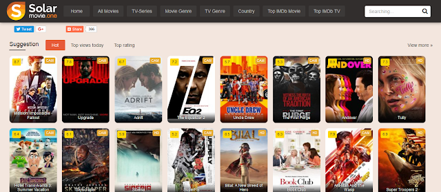 Solarmovies best sites to watch movies and TV series online for free in HD