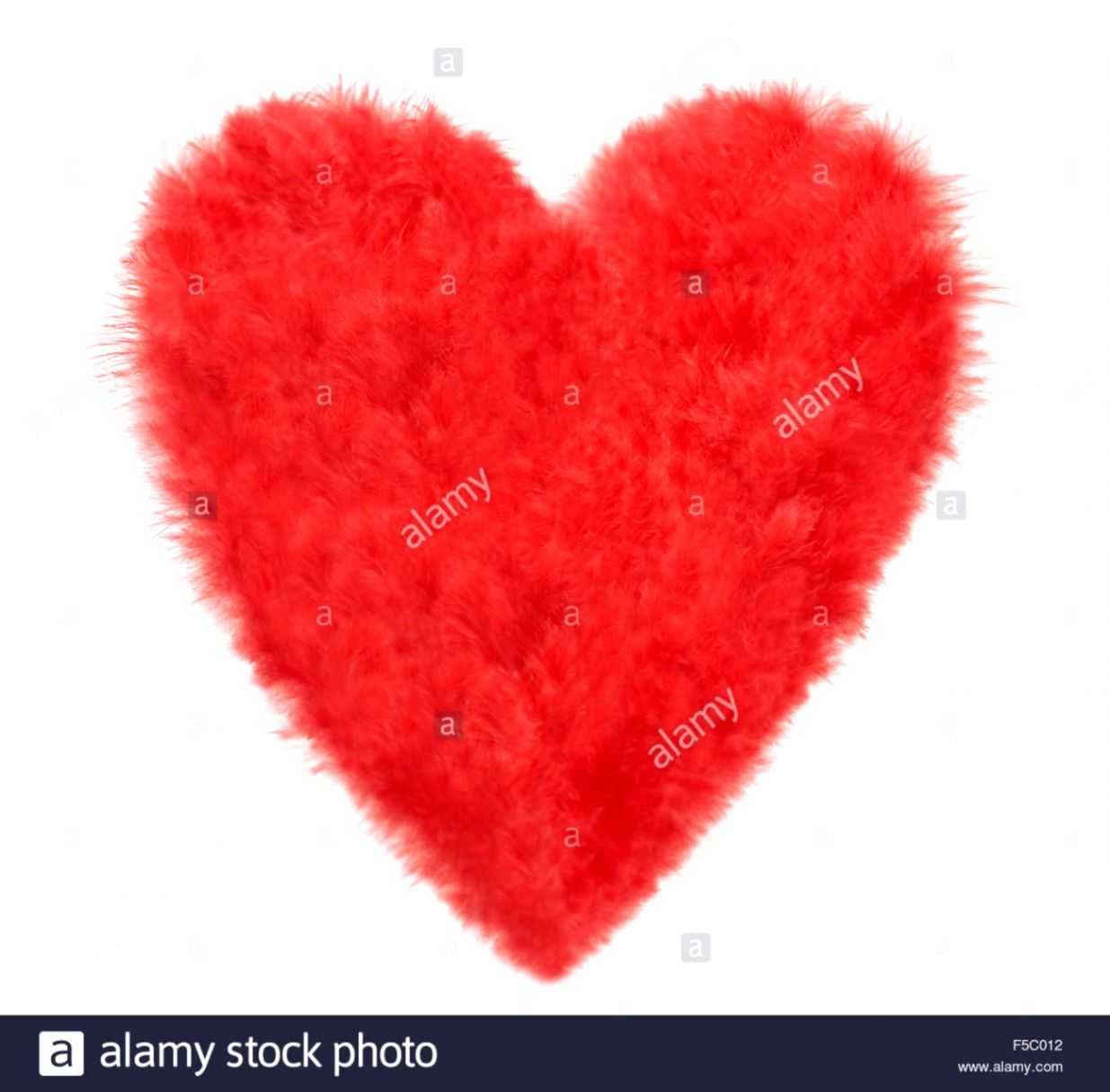 Love Red Hearts Feathers Valentine