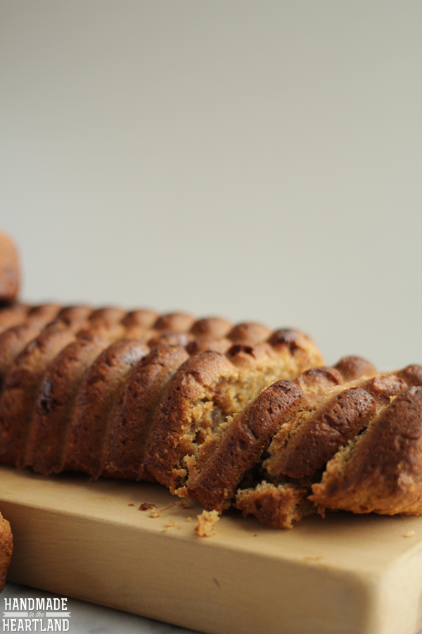 How about a peanut butter chocolate chip banana bread recipe that is moist easy and delicious.