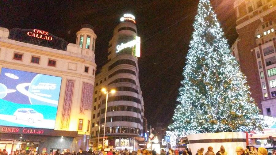 Árbol de Navidad de Plaza de Callao.
