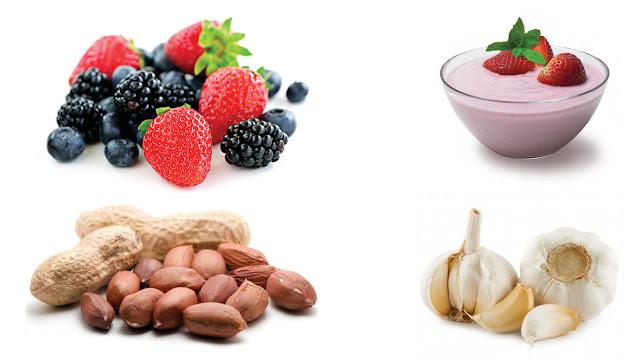 makanan sehat yang dapat mencegah penuaan dini