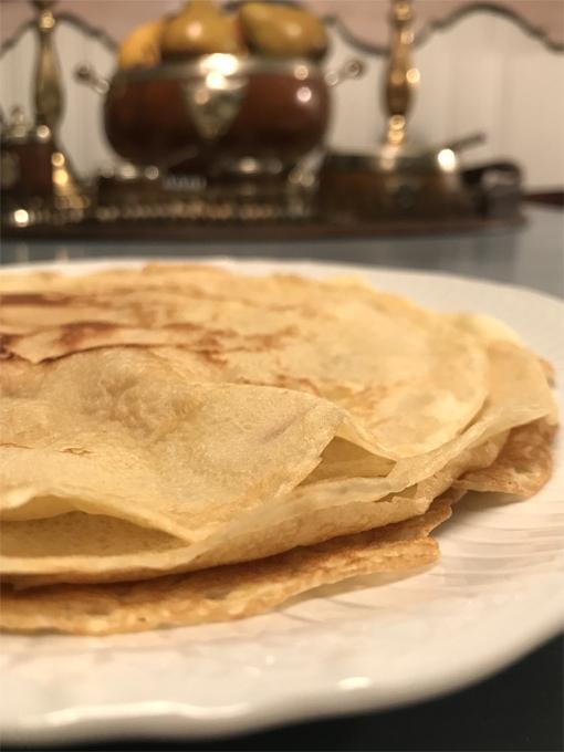 Crepes, Julia Child's recipe   Photo: Travis S. Taylor