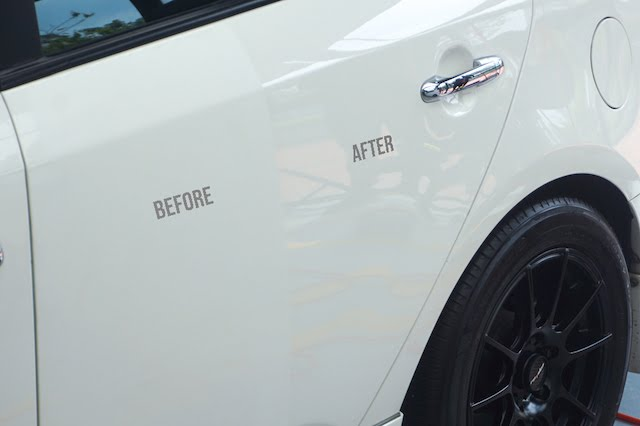 Check out the differences before Ceramic Pro Nano Coating and after