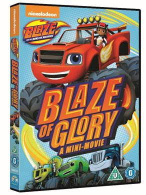 Blaze and the Monster Machines: Blaze of Glory, Easter Giveaway, car animation
