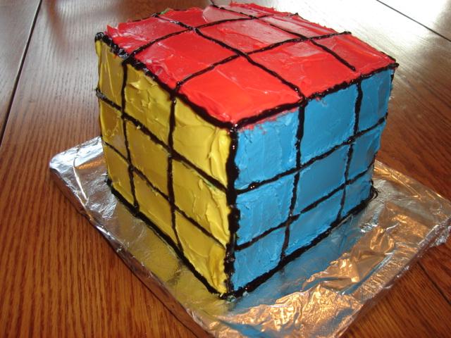 Birthday Cake Rubik S Cube Birthday Cakes