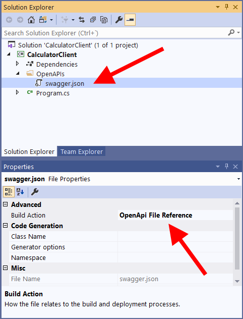 Esquema OpenAPI añadido