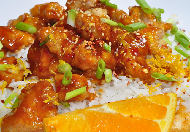 Chicken Orange - Asian Food