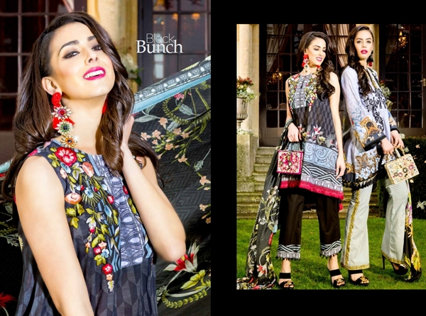 Saira Rizwan Lawn 2017-18 Catalog with Prices