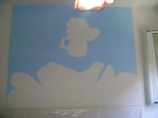 Francesca Decorazioni L Ape Maia Di Bologna Wall Murals For Kids The Ape Maia Bologna