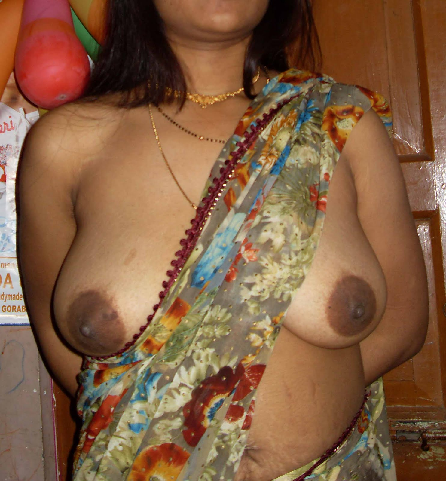 Naked aunties boobs