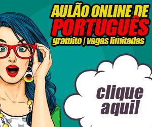 Aula de Português Grátis