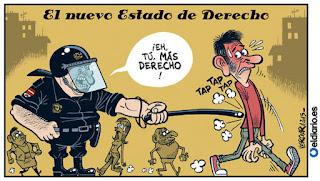 Viñeta Humor Ley Mordaza