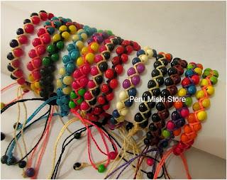Achira bracelets
