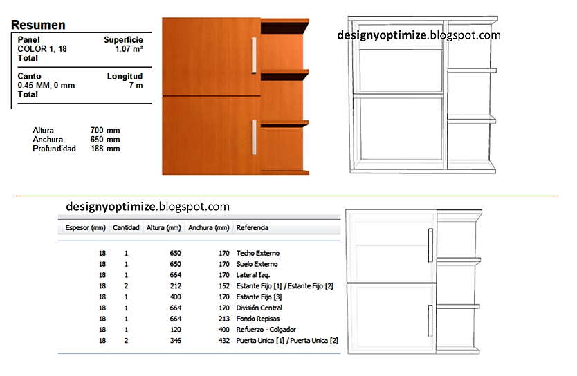 Dise o de muebles madera creaci n mueble superior para for Software de diseno de muebles de melamina