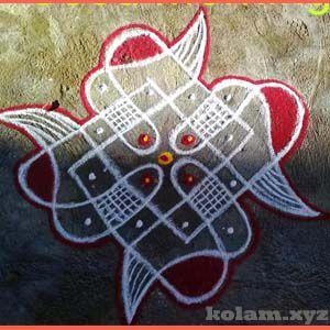 Easy Dot Simple Kolam With Dots For Beginners Kolam