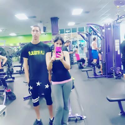 Peter la Anguila en el Gym