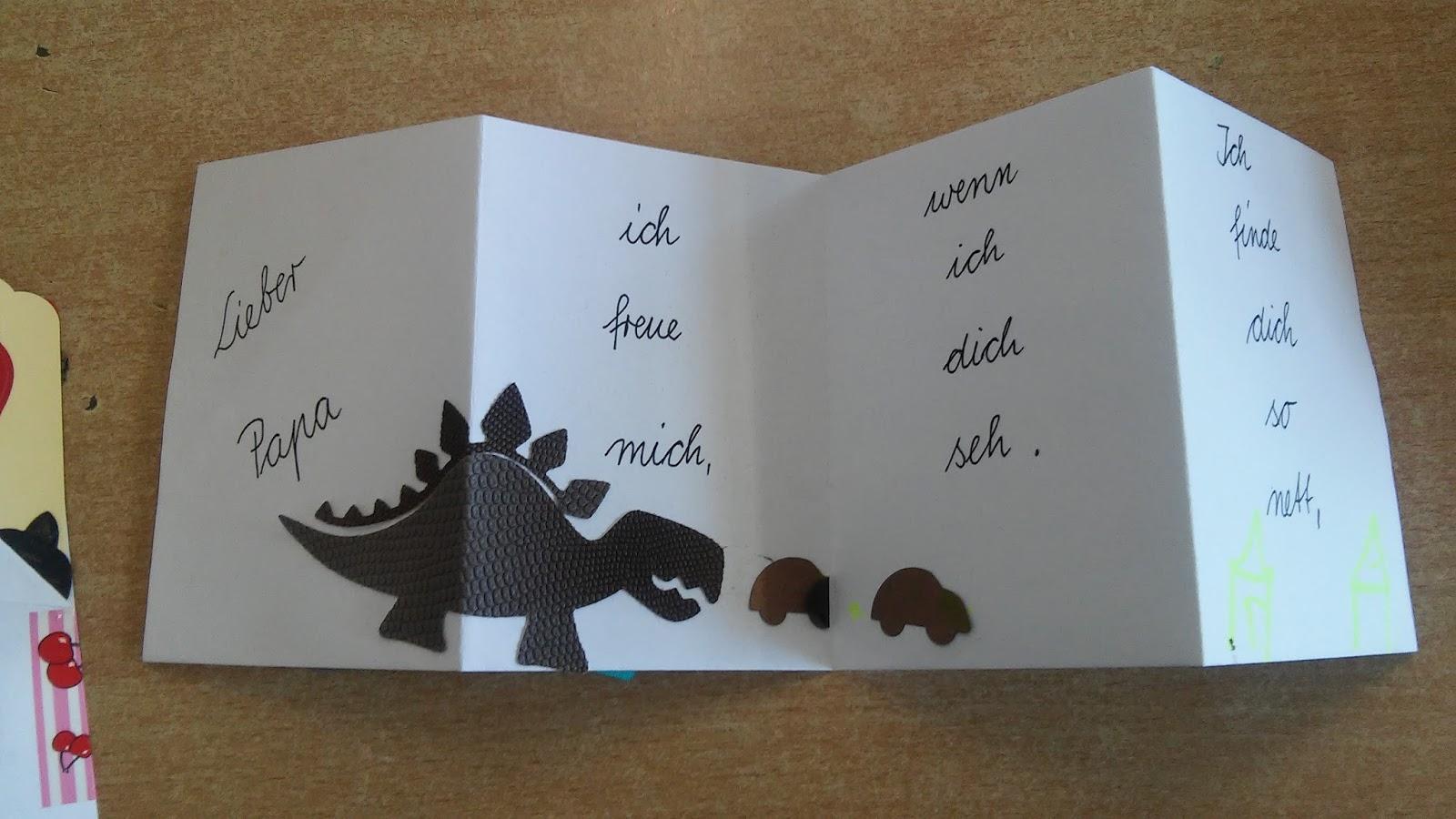 Vatertagskarte basteln mit kindern
