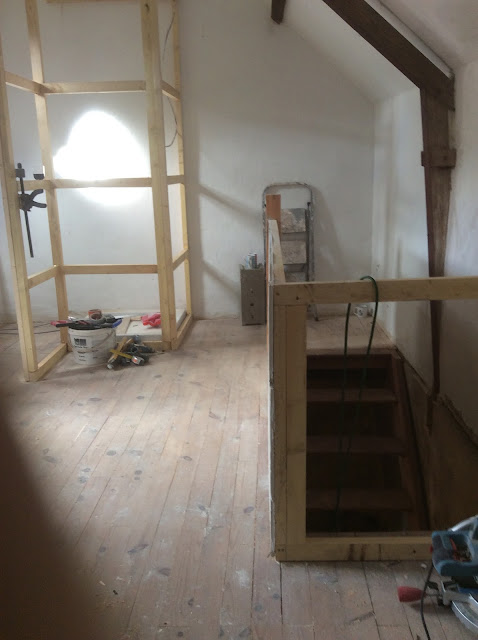 renovation project - renovating an old french house