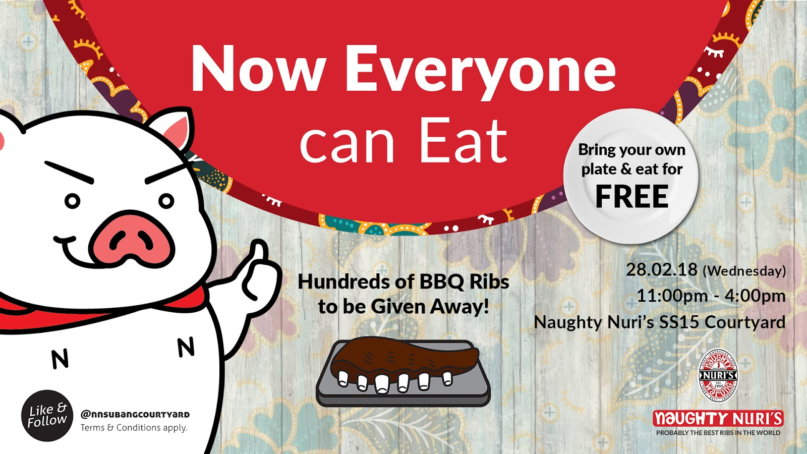 naughty nuri's: biggest ribs eating event