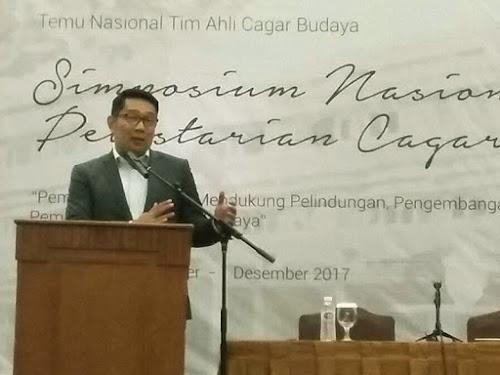 Simposium Nasional Pelestarian Cagar Budaya di Bandung