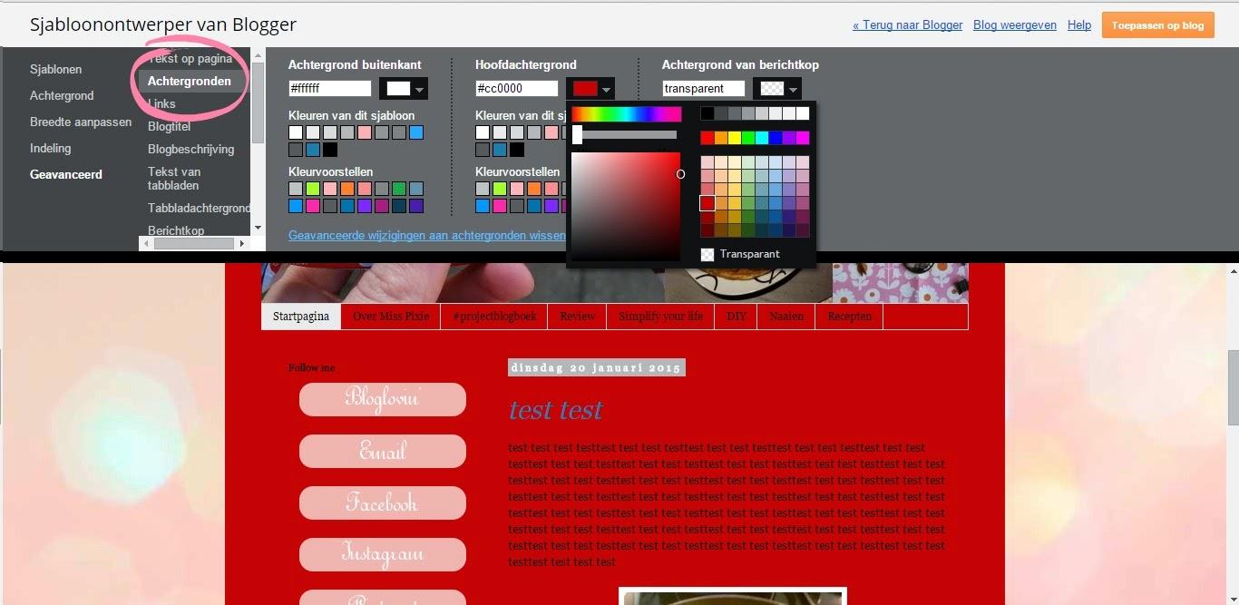 kleur foto aanpassen