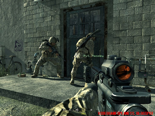 download call of duty 4 modern warfare highly compressed
