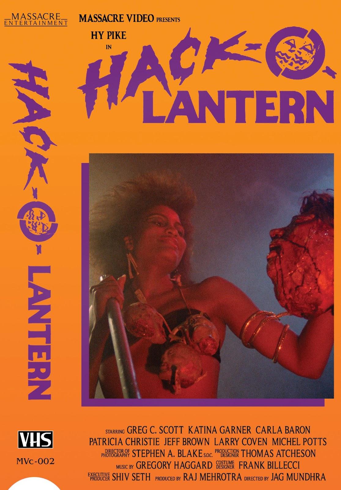 HACK-O-LANTERN 1988   Horror movie posters, Halloween