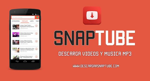 descargar la aplicación SnapTube