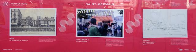 """Le nouveau panneau informatif siglé """"Rennes 2030"""" - 28 août 2016"""