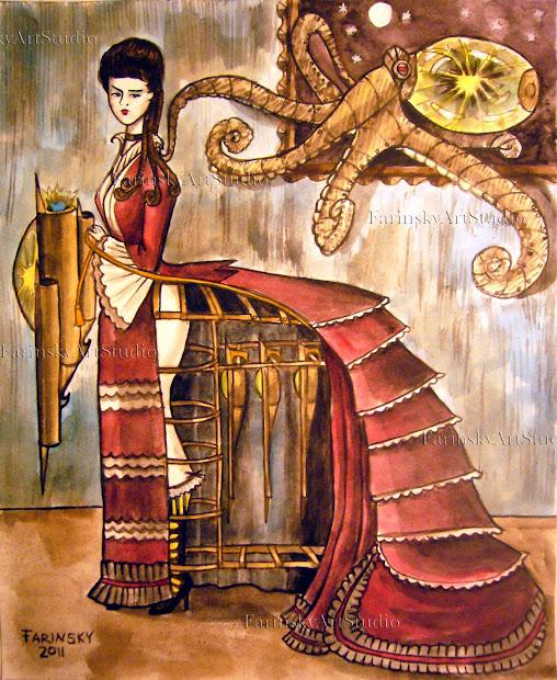 Illustration Art Steampunk