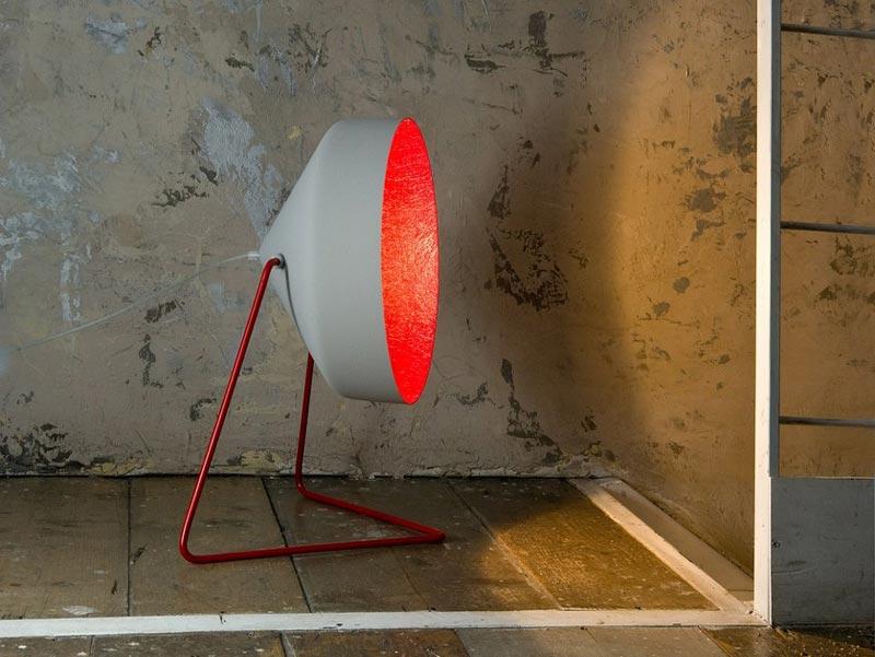 lampada da terra Matt Cemento In-es.artdesign
